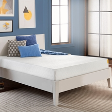 Queen Simmons 8 Inch Foam Mattress Only SDMB092012 - Scratch and Dent Model ''As-Is''