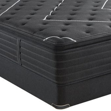 Simmons Beautyrest Black C Class Medium Pillow Top 16 Inch Queen Mattress Only SDMB072004 - Scratch and Dent Model ''As-Is''