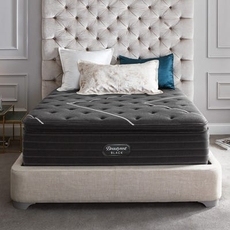 Simmons Beautyrest Black C Class Medium Pillow Top 16 Inch Queen Mattress Only SDMB0321121 - Scratch and Dent Model ''As-Is''