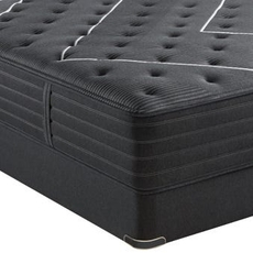 Queen Simmons Beautyrest Black C Class Plush Mattress
