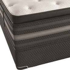 Queen Simmons Beautyrest Black Christabel Plush Pillow Top 16 Inch Mattress + FREE $300 Visa Gift Card
