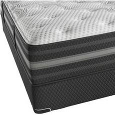 Queen Simmons Beautyrest Black Desiree Plush Mattress + FREE Sonos 2 Room Music System
