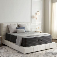 King Simmons Beautyrest Black Hybrid X Class Medium 13.5 Inch Mattress Only SDMB122033 - Scratch and Dent Model ''As-Is''