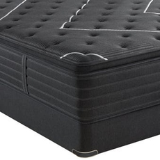 Queen Simmons Beautyrest Black K Class Firm Pillow Top Mattress