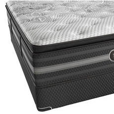 "Simmons Beautyrest Black Katarina Luxury Firm Pillow Top Queen Mattress Only OVMB111725 - Clearance Model ""As Is"""