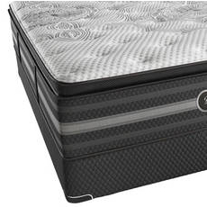Queen Simmons Beautyrest Black Katarina Plush Pillow Top Mattress