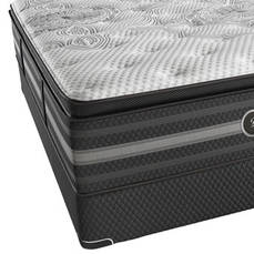 "Simmons Beautyrest Black Katarina Plush Pillow Top Queen Mattress Only  - Scratch and Dent Model ""As-Is"""