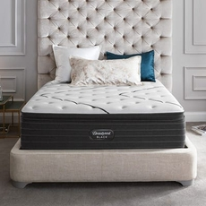 Full Simmons Beautyrest Black L Class Plush Pillow Top 15.75 Inch Mattress + FREE $300 Visa Gift Card