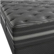 King Simmons Beautyrest Black Mariela Plush Mattress