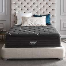 Queen Simmons Beautyrest Black Natasha II Plush Pillow Top 15 Inch Mattress + FREE $300 Visa Gift Card