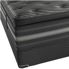 King Simmons Beautyrest Black Natasha Luxury Firm Pillow Top Mattress + FREE Sonos 2 Room Music System