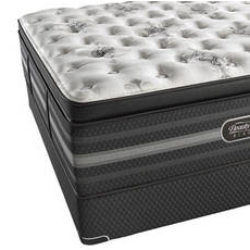 Queen Simmons Beautyrest Black Sonya Luxury Firm Pillow Top Mattress