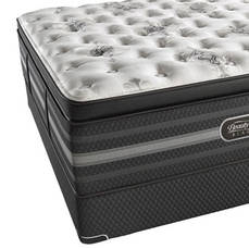 Queen Simmons Beautyrest Black Sonya Luxury Firm Pillow Top 18 Inch Mattress + FREE $300 Visa Gift Card