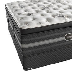 "Simmons Beautyrest Black Tatiana Ultimate Plush Pillow Top Queen Mattress Only OVMB111730 - Clearance Model ""As Is"""