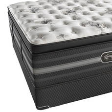 Simmons Beautyrest Black Tatiana Ultimate Plush Pillow Top Queen Mattress Only SDMB031982- Scratch and Dent Model ''As-Is''