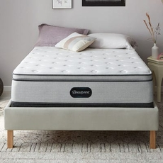 King Simmons Beautyrest BR800 Medium Pillow Top 13.5 Inch Mattress