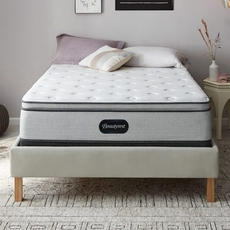 King Simmons Beautyrest BR800 Plush Pillow Top 13.5 Inch Mattress