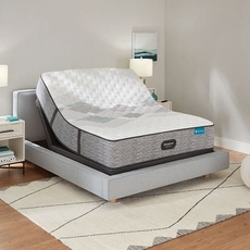 Simmons Beautyrest Harmony Lux HLC-1000 Extra Firm 12.5 Inch King Mattress Only SDMB032104 - Scratch and Dent Model ''As-Is''