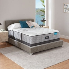 Queen Simmons Beautyrest Harmony Lux HLC-1000 Medium 13.75 Inch Mattress Only SDMB102013 - Scratch and Dent Model ''As-Is''