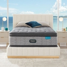 Simmons Beautyrest Harmony Lux HLD-2000 Medium Pillow Top 17.25 Inch Queen Mattress Only SDMB0321137 - Scratch and Dent Model ''As-Is''