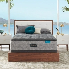 King Simmons Beautyrest Harmony Lux HLD-2000 Plush 15 Inch Mattress