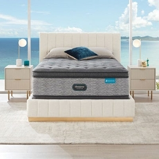 Full Simmons Beautyrest Harmony Lux HLD-2000 Plush Pillow Top 17.5 Inch Mattress