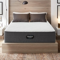 Simmons Beautyrest Hybrid Level 1 BRX1000-C Plush 13 Inch Queen Mattress Only SDMB042123 - Scratch and Dent Model ''As-Is''