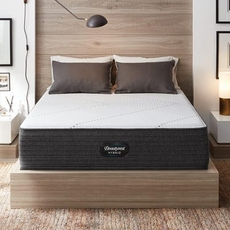 Cal King Simmons Beautyrest Hybrid Level 1 BRX1000-IP Medium 13.5 Inch Mattress Only SDMB012120 - Scratch and Dent Model ''As-Is''