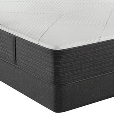 Simmons Beautyrest Hybrid Level 1 BRX1000-IP Medium 13.5 Inch Queen Mattress Only SDMB012016 - Scratch and Dent Model ''As-Is''