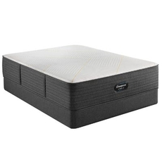 King Simmons Beautyrest Hybrid Level 2 BRX3000-IM Medium Firm 14.5 Inch Mattress Only SDMB012113 - Scratch and Dent Model ''As-Is''