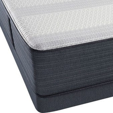 King Simmons Beautyrest Platinum Hybrid Tyson III Lux Firm Mattress