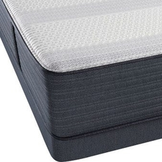 King Simmons Beautyrest Platinum Hybrid Vanity III Firm Mattress