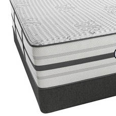 "Simmons Beautyrest Platinum Hybrid Vanity Plush Queen Mattress Only SDMB111846 - Scratch and Dent Model ""As-Is"""