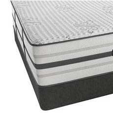 Queen Simmons Beautyrest Platinum Hybrid Waltz Luxury Firm Mattress with SmartMotion 2.0 Adjustable Base