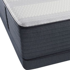 King Simmons Beautyrest Platinum Hybrid Warrior III Lux Firm Mattress