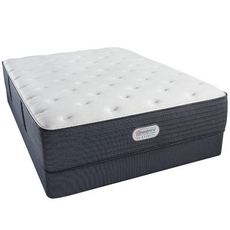 Queen Simmons Beautyrest Platinum Rosamond III Plush 12.8 Inch Mattress