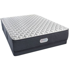 Cal King Simmons Beautyrest Platinum Spring Grove Extra Firm 13.5 Inch Mattress Set with Low Profile Box Spring