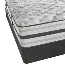 Queen Simmons Beautyrest Platinum Sunfire Extra Firm Mattress with SmartMotion 1.0 Adjustable Base