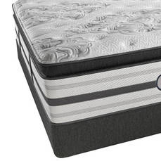 Twin Simmons Beautyrest Platinum Trixie Plush Pillow Top Mattress Only SDMB021828