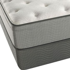 "Simmons Beautyrest Recharge 12 Inch Innerspring Plush Euro Top Queen Mattress Only OVML101813 - Clearance Model ""As Is"""