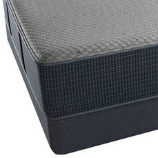 "Simmons Beautyrest Silver Hybrid Vivian III Ultimate Plush Cal King Mattress SDMB041847 - Scratch and Dent Model ""As-Is"""