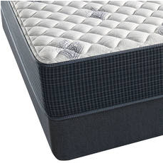 King Simmons Beautyrest Silver Kenosha Place III Extra Firm Mattress with SmartMotion 3.0 Adjustable Base