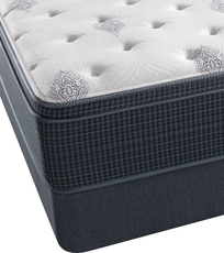 Twin Simmons Beautyrest Silver Kenosha Place III Lux Firm Euro Top Mattress