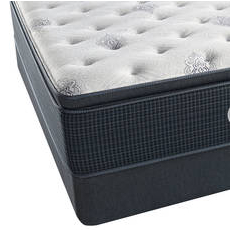 King Simmons Beautyrest Silver Kenosha Place III Luxury Firm Pillow Top Mattress