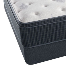 Twin Simmons Beautyrest Silver Kenosha Place III Plush Euro Top Mattress