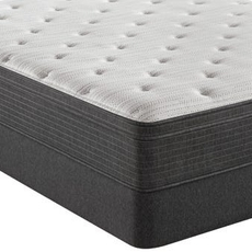 Simmons Beautyrest Silver Level 1 BRS900 Plush Euro Top 13 Inch King Mattress Only SDMB022001 - Scratch and Dent Model ''As-Is''