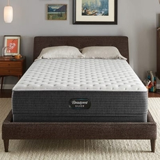 Simmons Beautyrest Silver Lydia Manor 4 Extra Firm 13.75 Inch King Mattress Only SDMB121923 - Scratch and Dent Model ''As-Is''