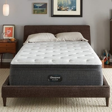 Full Simmons Beautyrest Silver Lydia Manor 4 Plush Pillow Top 16 Inch Mattress