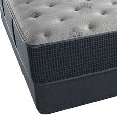 King Simmons Beautyrest Silver Lydia Manor III Luxury Firm Mattress