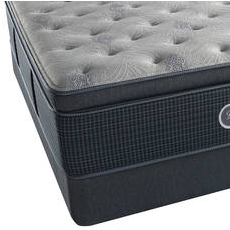 Simmons Beautyrest Silver Lydia Manor III Luxury Firm Pillow Top King Mattress Set SDMB091745